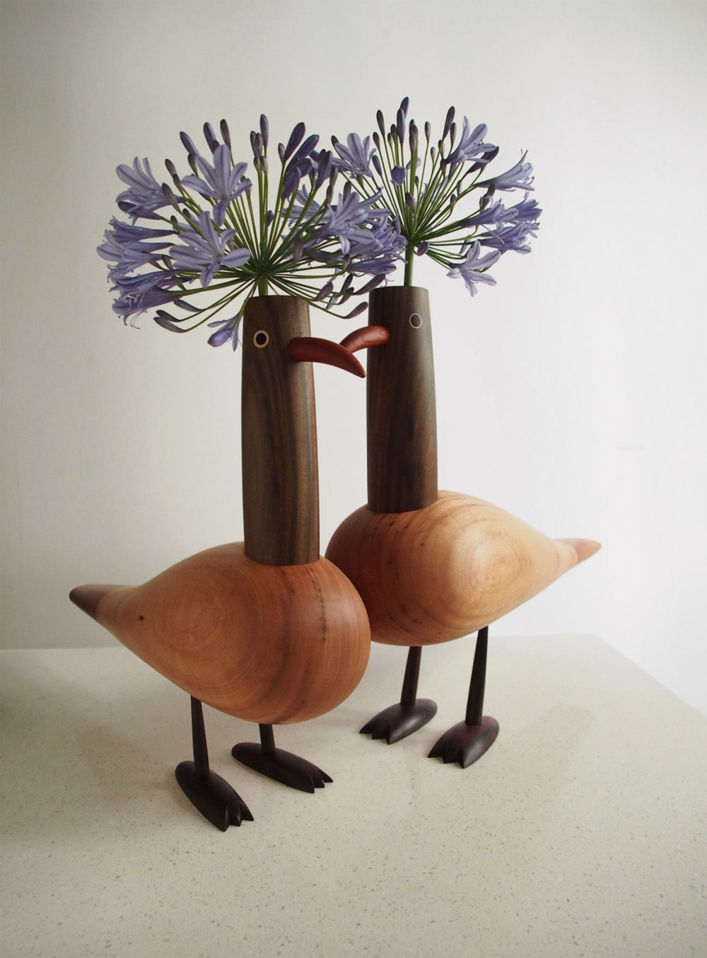 Peculiar Creatures Amusing Cartoon Like Wood Toys And Vases By Yen Jui Lin 9