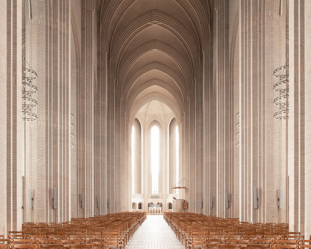 Sacred Spaces A Series On Modernist Churches By Thibaud Poirier 1