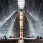 """""""Sacred Spaces"""": a photography series on modernist churches by Thibaud Poirier"""