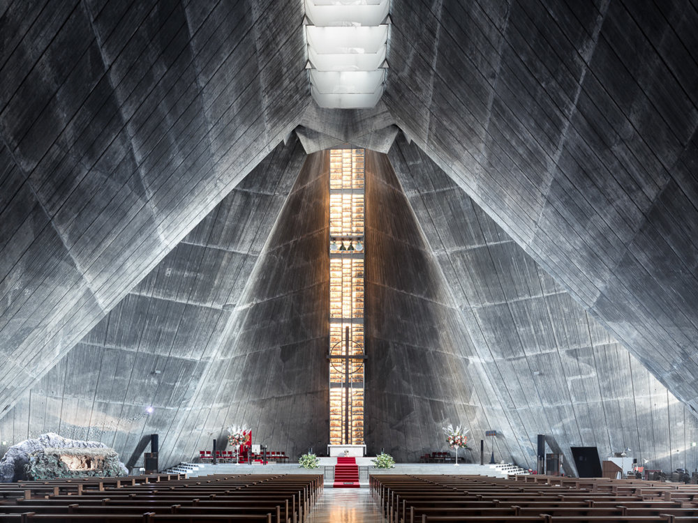Sacred Spaces A Series On Modernist Churches By Thibaud Poirier 10