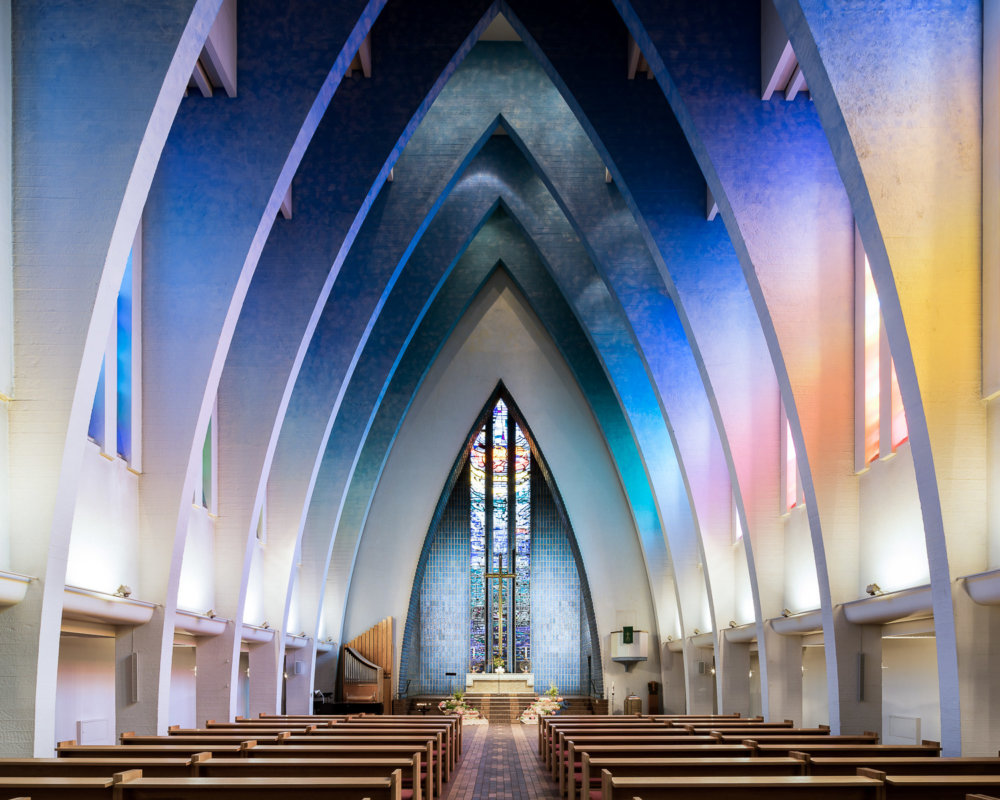 Sacred Spaces A Series On Modernist Churches By Thibaud Poirier 2