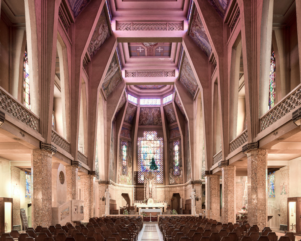 Sacred Spaces A Series On Modernist Churches By Thibaud Poirier 3
