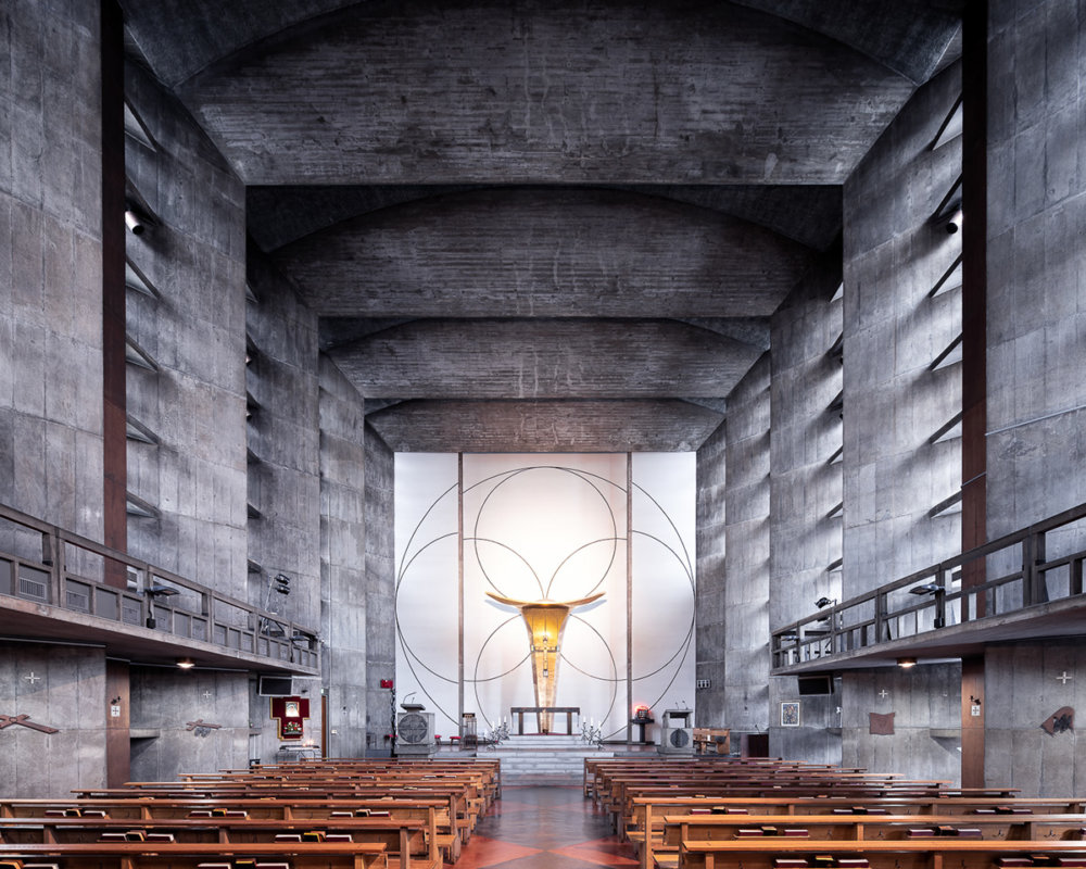 Sacred Spaces A Series On Modernist Churches By Thibaud Poirier 4
