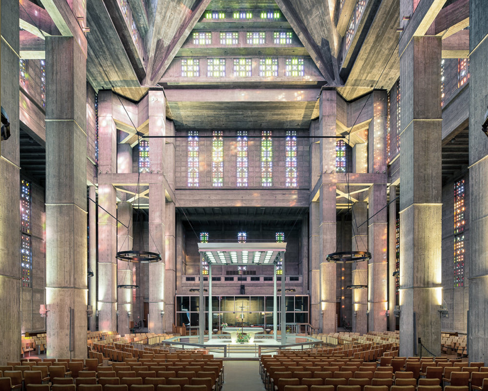 Sacred Spaces A Series On Modernist Churches By Thibaud Poirier 5