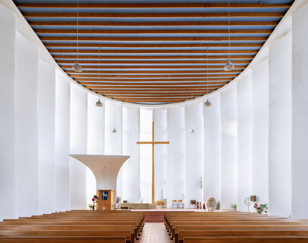 Sacred Spaces A Series On Modernist Churches By Thibaud Poirier 6
