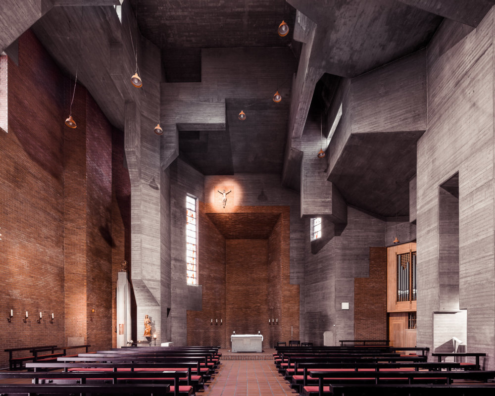 Sacred Spaces A Series On Modernist Churches By Thibaud Poirier 7