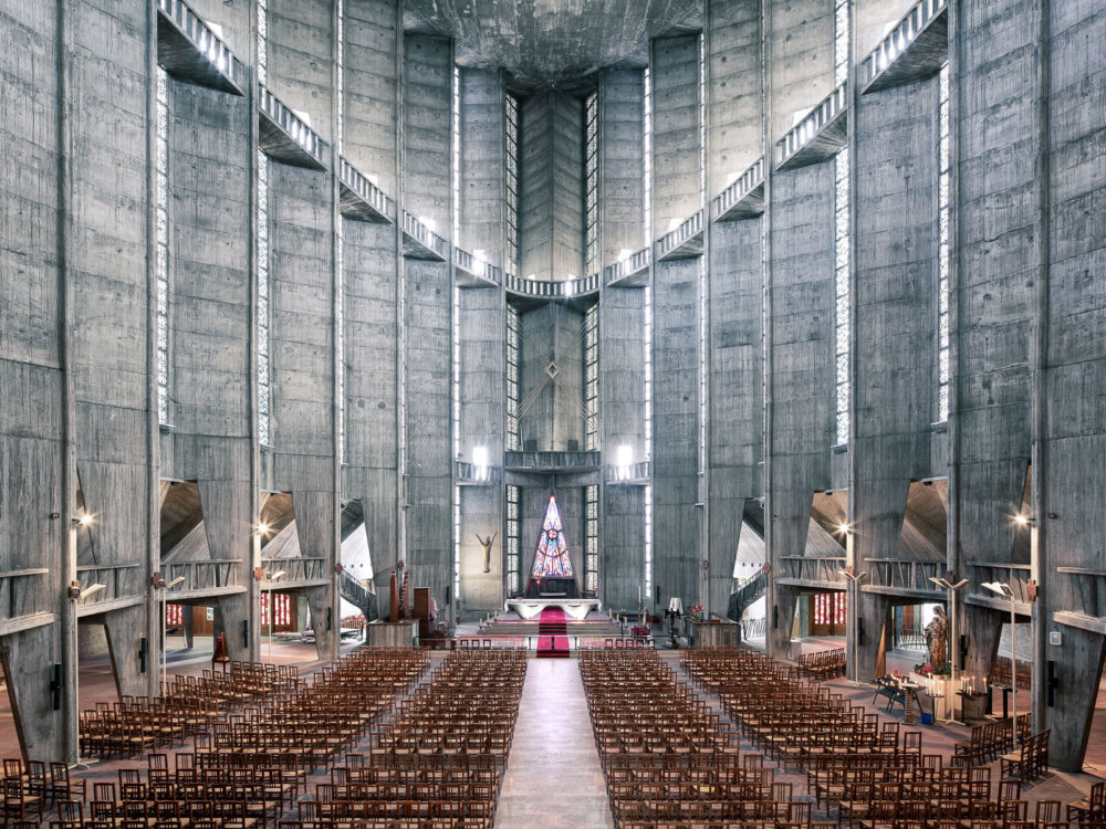Sacred Spaces A Series On Modernist Churches By Thibaud Poirier 8