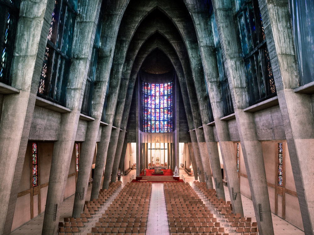 Sacred Spaces A Series On Modernist Churches By Thibaud Poirier 9