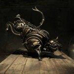 Striking animal scrap metal sculptures by Alan Williams
