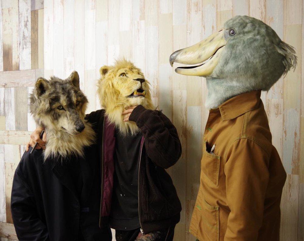 Stunning Realistic Lifelike Animal Masks By Kamonohashi Zokei 08