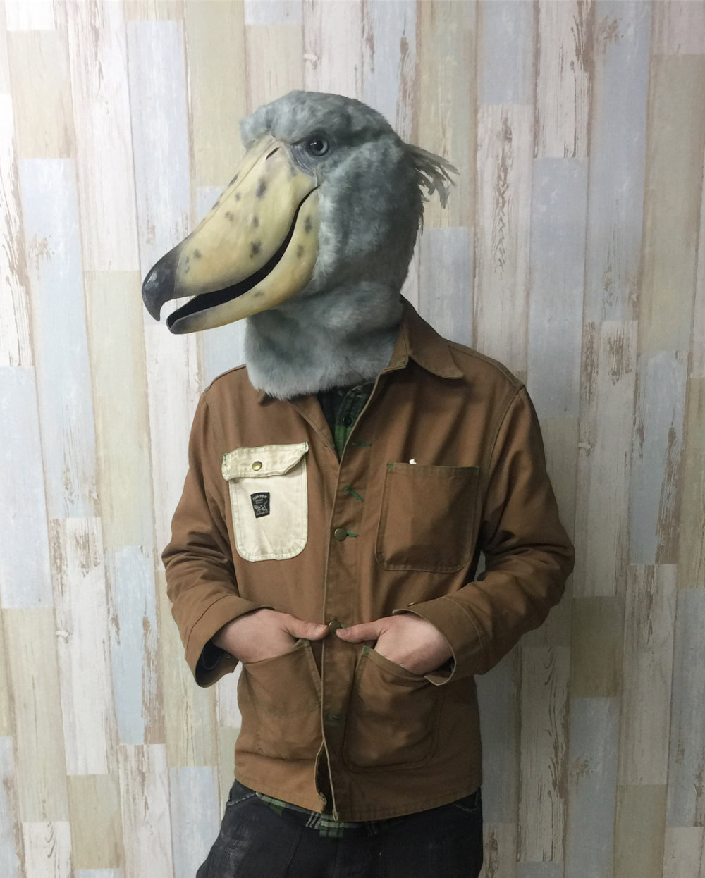 Stunning Realistic Lifelike Animal Masks By Kamonohashi Zokei 09