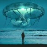 Surrealist digital photo-manipulations of utopian worlds by Kameliya Schneider