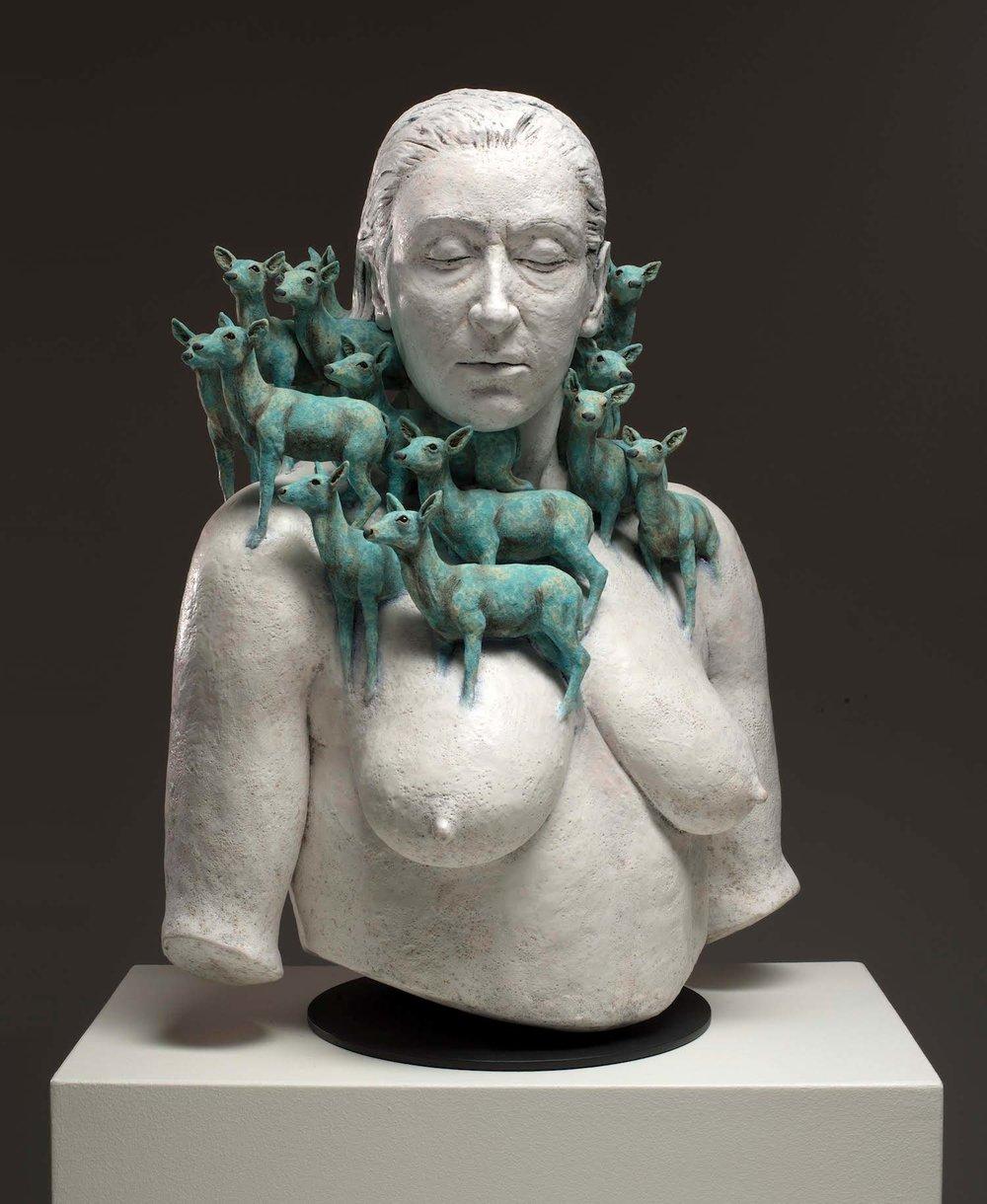 Surrealist Figure Ceramic Sculptures By Adrian Arleo 1