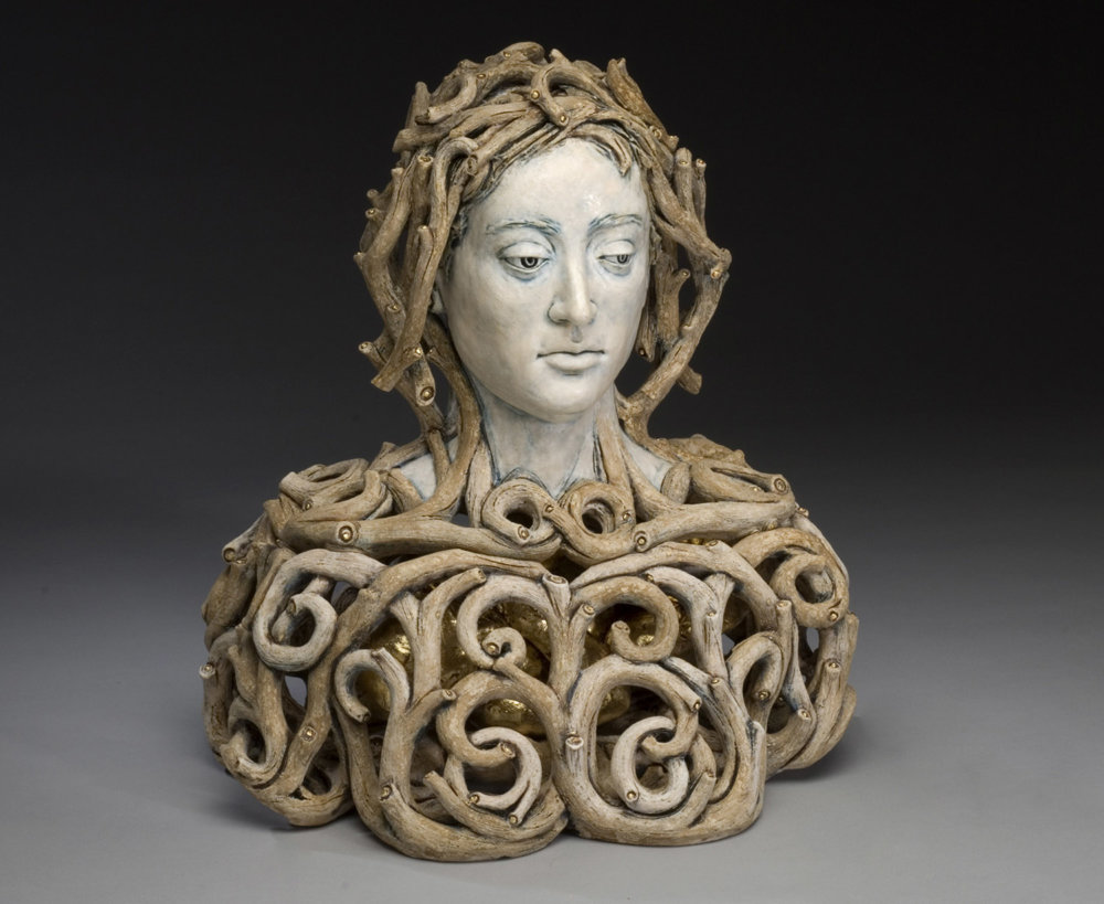 Surrealist Figure Ceramic Sculptures By Adrian Arleo 10