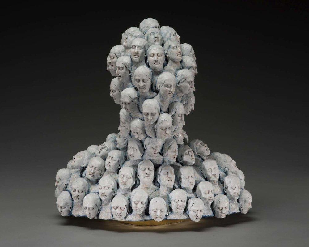 Surrealist Figure Ceramic Sculptures By Adrian Arleo 6