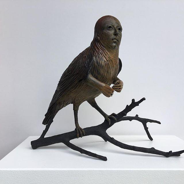 Surrealist Figure Ceramic Sculptures By Adrian Arleo 7