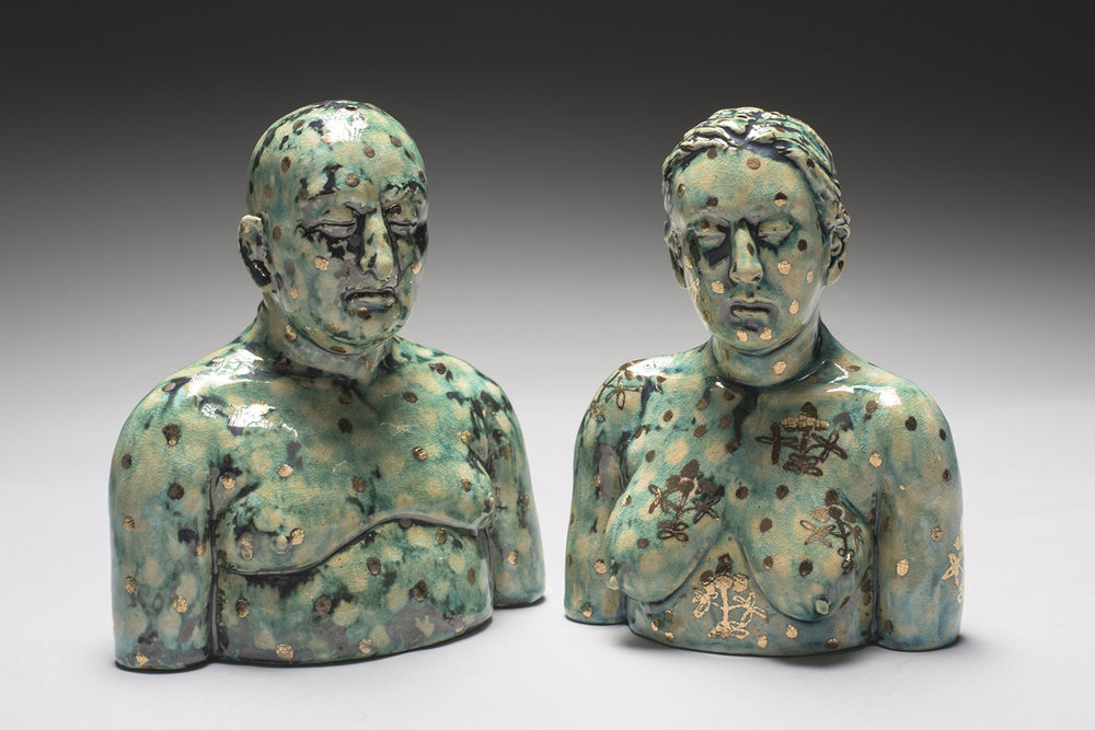 Surrealist Figure Ceramic Sculptures By Adrian Arleo 8