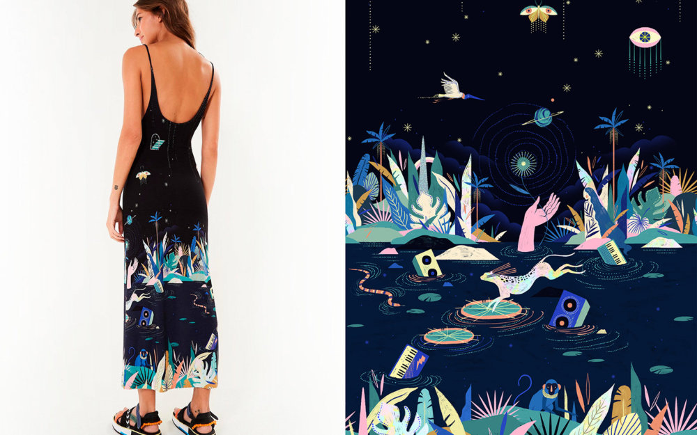 The Marvelous Illustrations Inspired By The Brazilian Soul Of Willian Santiago 7