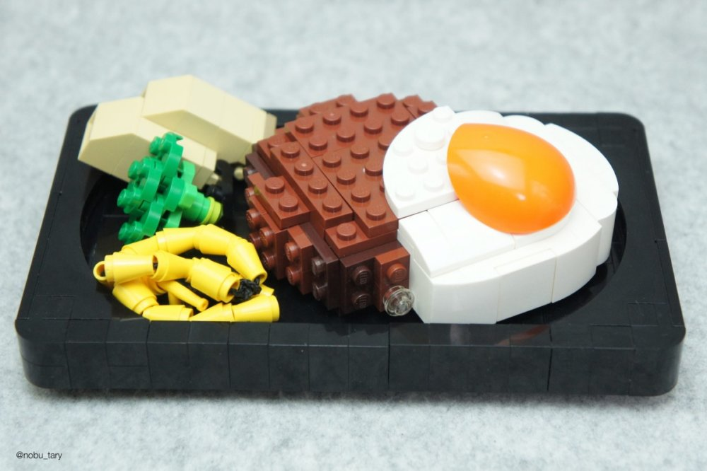 Amazing Lego Food Sculptures By Nobu Tary 1