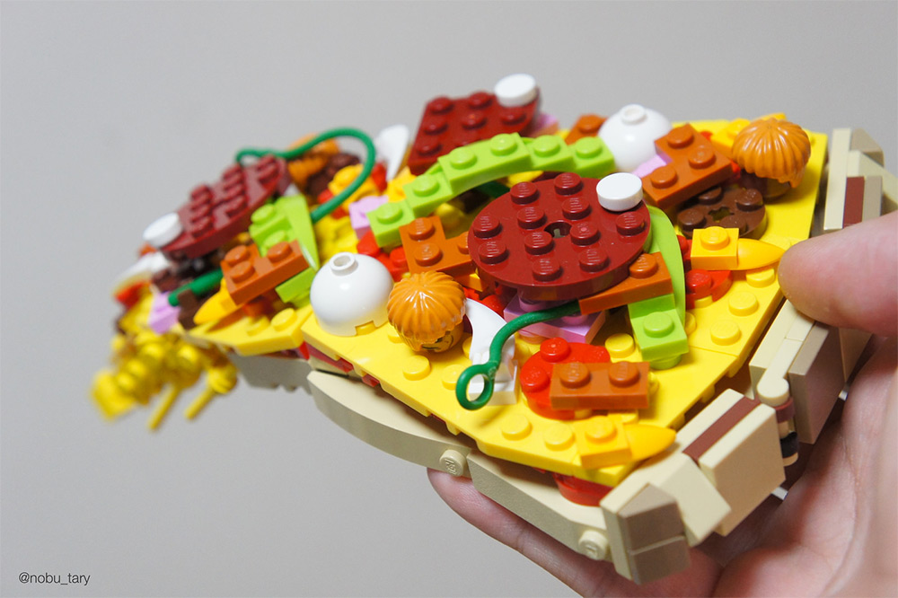 Amazing Lego Food Sculptures By Nobu Tary 3