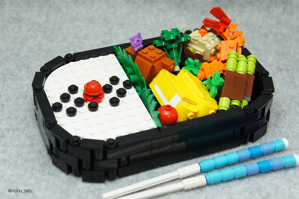 Amazing Lego Food Sculptures By Nobu Tary 4