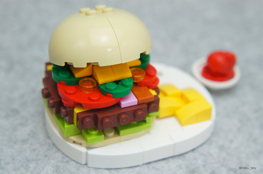 Amazing Lego Food Sculptures By Nobu Tary 8