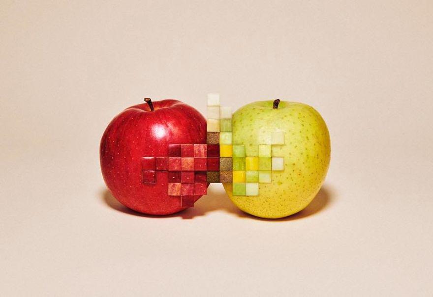 Amazing Pixelated Food Sculptures By Yuni Yoshida 3