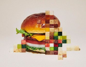 Amazing pixelated food sculptures by Yuni Yoshida