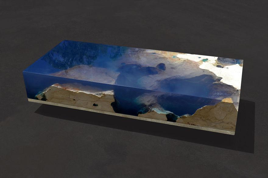 Astonishing Ocean Themed Tables By Alexandre Chapelin 10