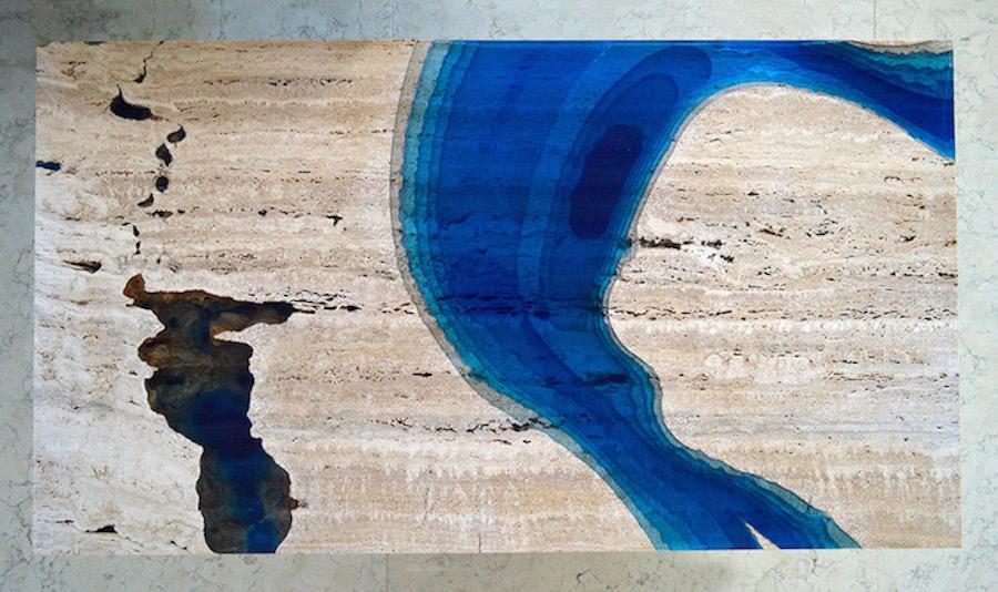 Astonishing Ocean Themed Tables By Alexandre Chapelin 3