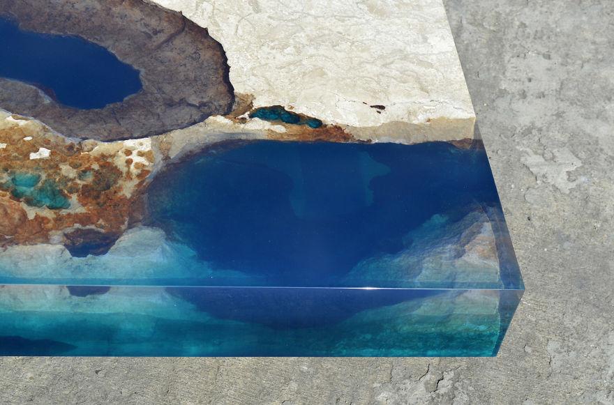 Astonishing Ocean Themed Tables By Alexandre Chapelin 9