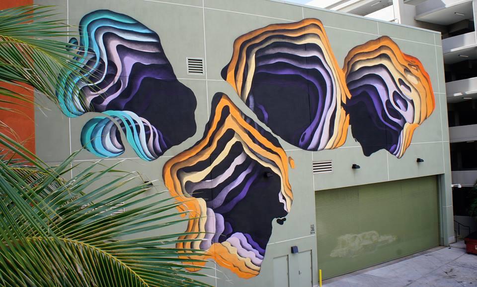 Colorful Gateways Impressive Three Dimensional Murals By 1010 3
