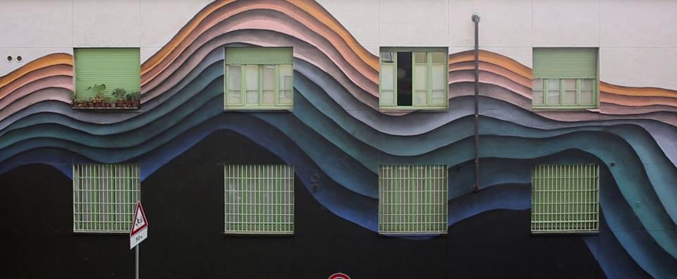 Colorful Gateways Impressive Three Dimensional Murals By 1010 5