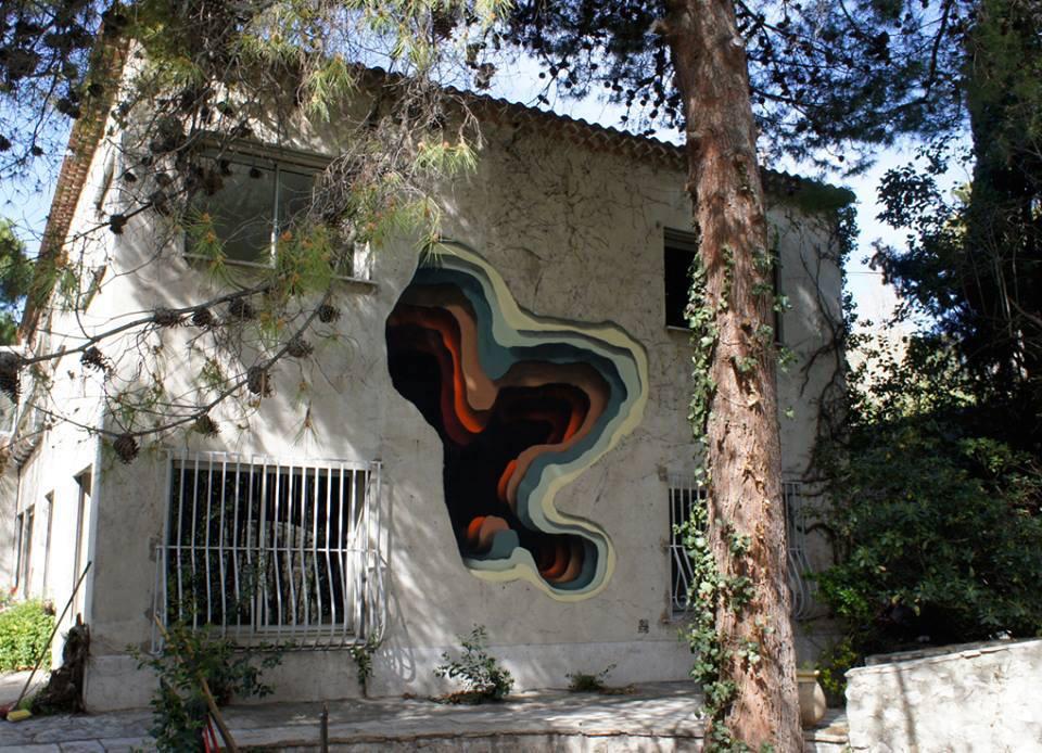 Colorful Gateways Impressive Three Dimensional Murals By 1010 6