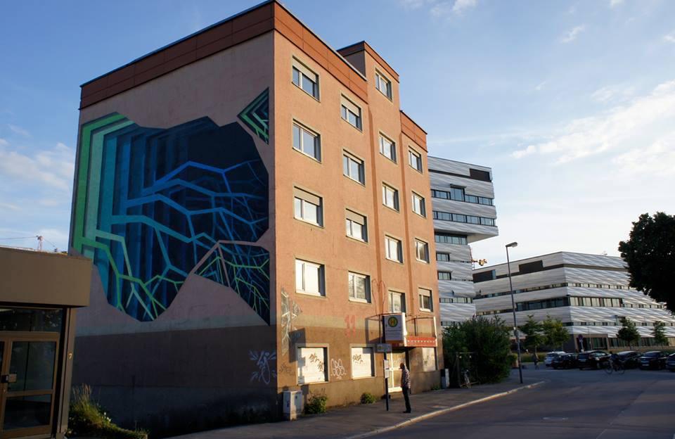 Colorful Gateways Impressive Three Dimensional Murals By 1010 7