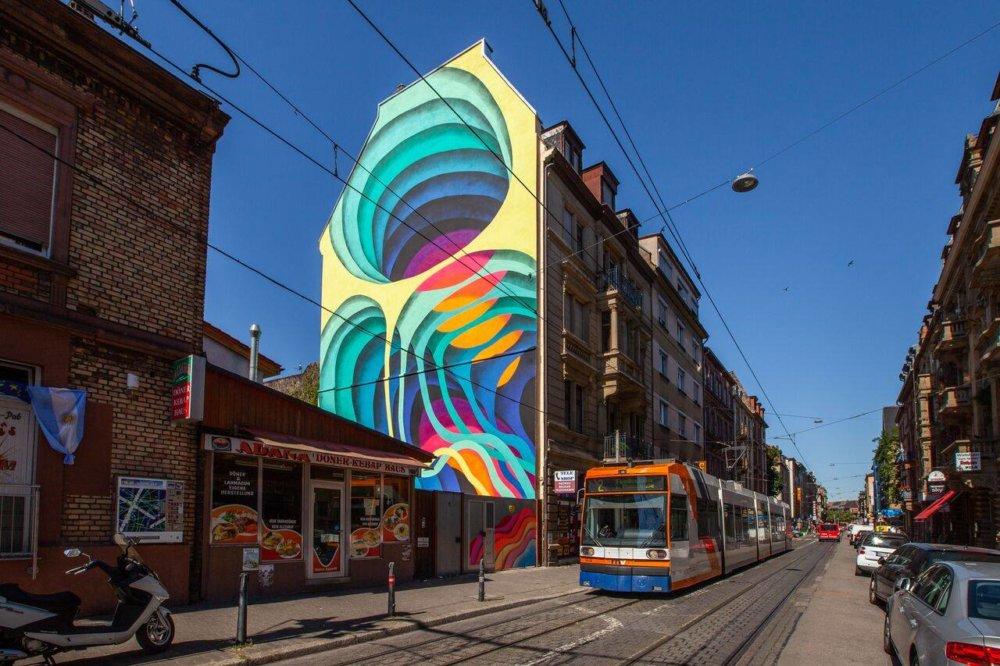 Colorful Gateways Impressive Three Dimensional Murals By 1010 8