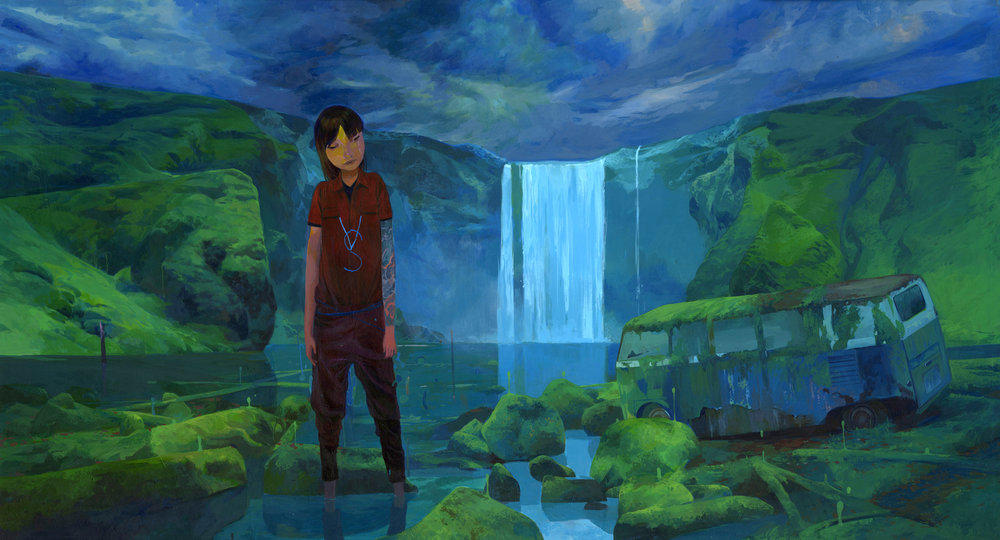 Colorful Illustrative Paintings By Andrew Hem 2