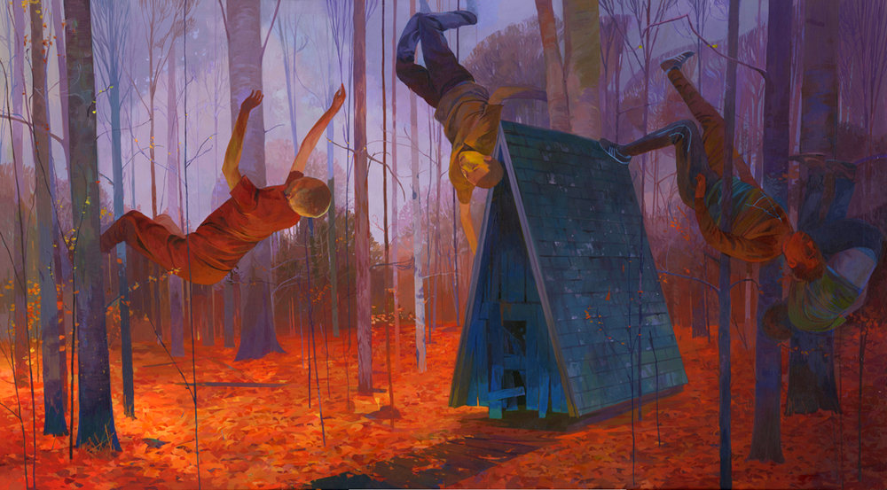 Colorful Illustrative Paintings By Andrew Hem 3