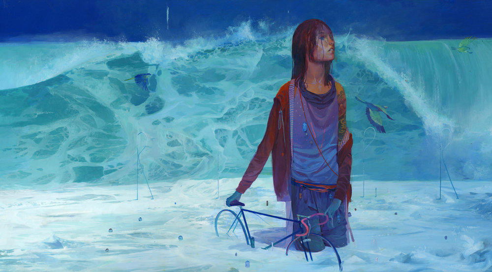 Colorful Illustrative Paintings By Andrew Hem 4