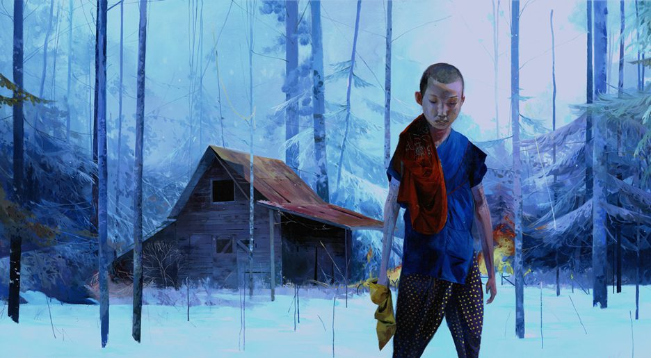 Colorful Illustrative Paintings By Andrew Hem 6