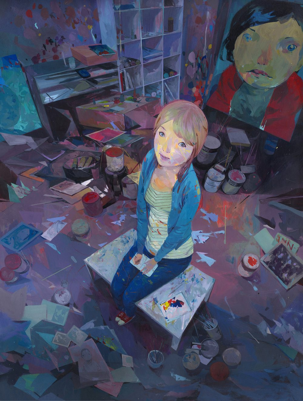 Colorful Illustrative Paintings By Andrew Hem 7