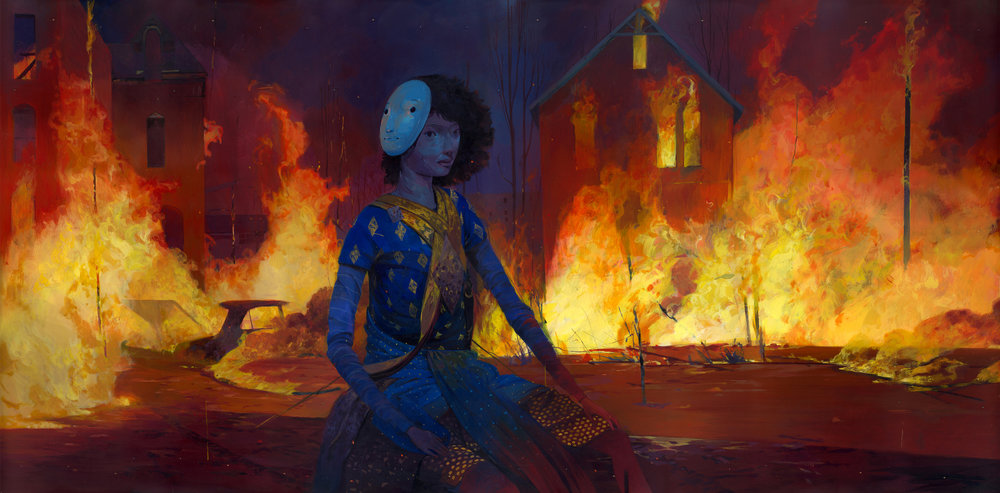 Colorful Illustrative Paintings By Andrew Hem 8