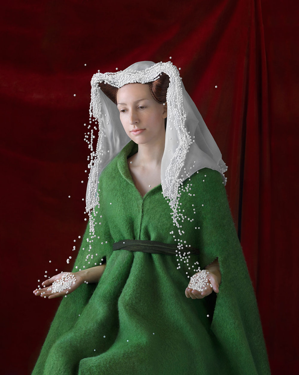 Discarded Packaging Recycled Into Renaissance Costumes By Suzanne Jongmans 7