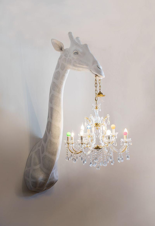 Figurative Lamp Sculptures By Marcantonio Raimondi Malerba 3