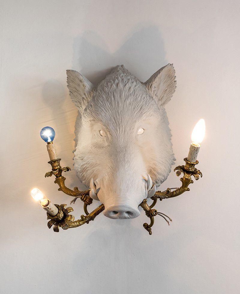 Figurative Lamp Sculptures By Marcantonio Raimondi Malerba 5