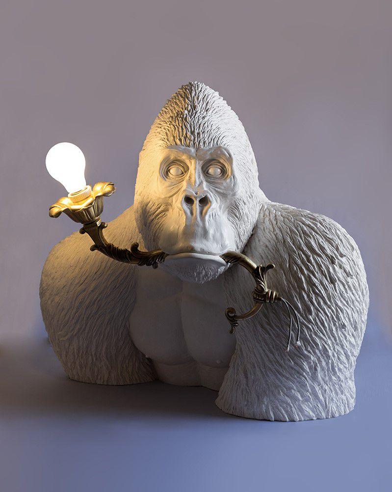 Figurative Lamp Sculptures By Marcantonio Raimondi Malerba 9