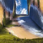 Folded world: breathtaking landscape photo manipulations by Petey Ulatan