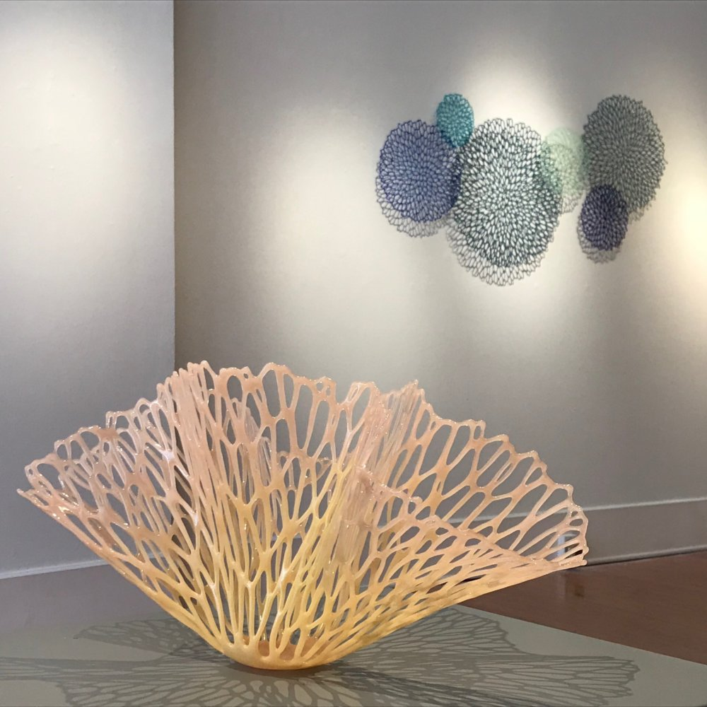Gorgeous Glass Vessels With Organic Shapes By Lauren Eastman Fowler 1