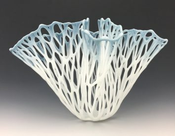 Gorgeous glass vessels with organic shapes by Lauren Eastman Fowler