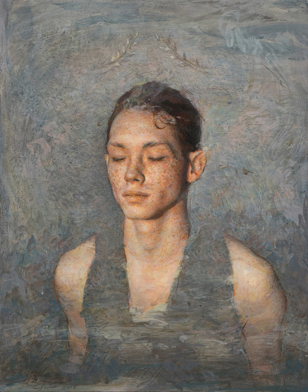 Intimate Figurative Paintings By Julio Reyes 2